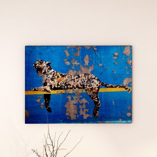 Banksy 'Bronx Zoo' Canvas Art