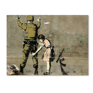 Banksy 'War' Canvas Art