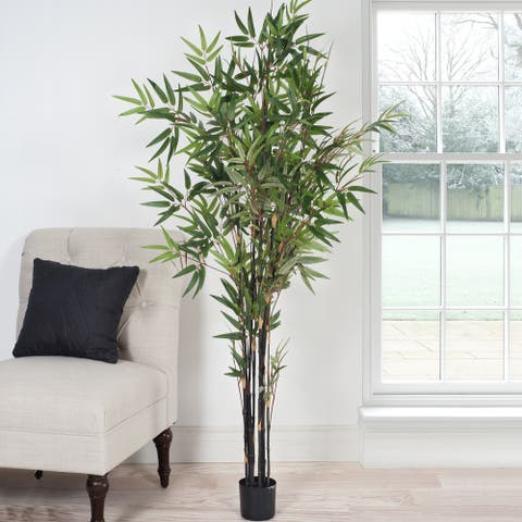 Romano 5-foot Japanese Bamboo Artificial Tree - Green
