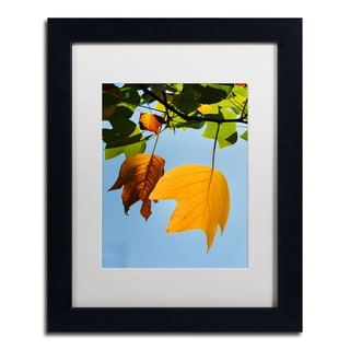 Philippe Sainte-Laudy 'Couples Fall' Framed Canvas Art