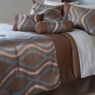 Windsor Home Champagne 7-piece Comforter Set