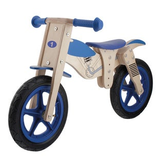 Anlen Wooden Moto 12-inch Balance/ Running Bike