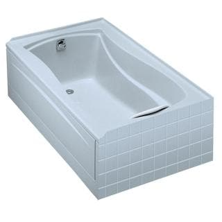 Kohler Mariposa 5 Foot Left-hand Drain Acrylic Soaking Tub