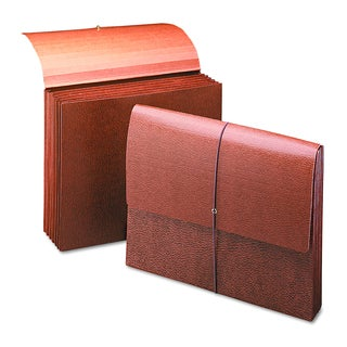 """Smead 5 1/4"""" Accordion Redrope Expansion Partition Wallet"""