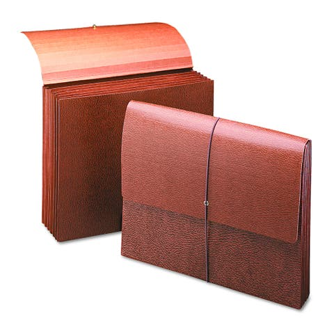 "Smead 5 1/4"" Accordion Redrope Expansion Partition Wallet"