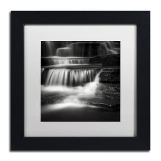 Dave MacVicar 'Cascade' Framed Canvas Art