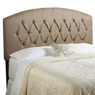 Humble + Haute Halifax Brown Curved Upholstered Headboard
