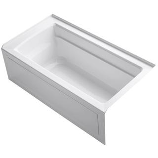 Kohler Archer 5-foot Right Drain Soaking Tub with Apron