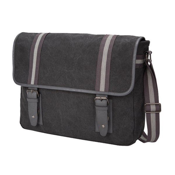 The Arlington Canvas Computer/Tablet Flapover Messenger