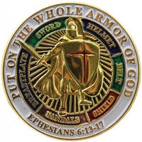 Armor Of God Pin
