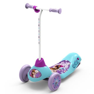 Disney Frozen Safe Start 3-Wheel Electric Scooter