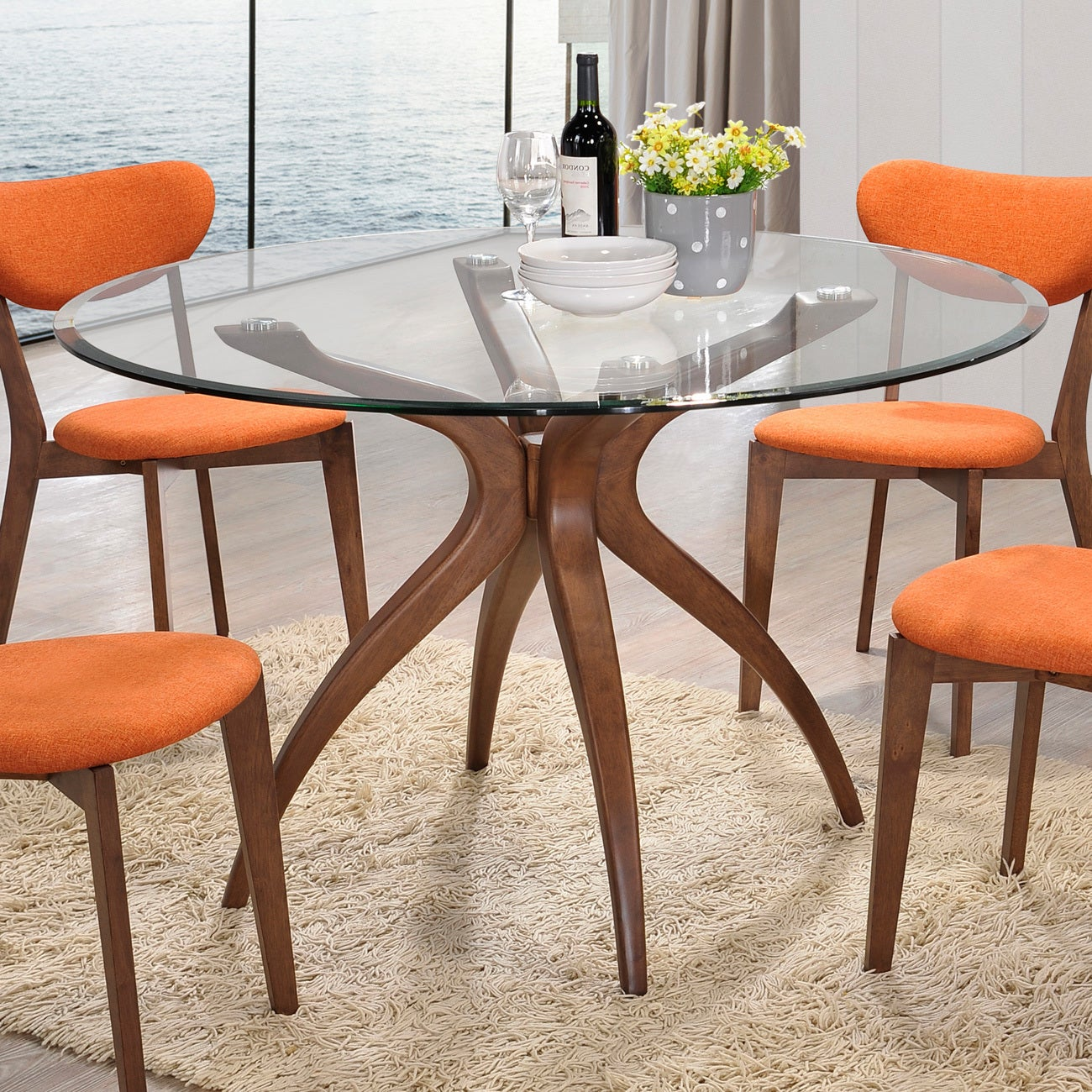 Aeon Furniture Quincy Dining Table Overstock 10225280