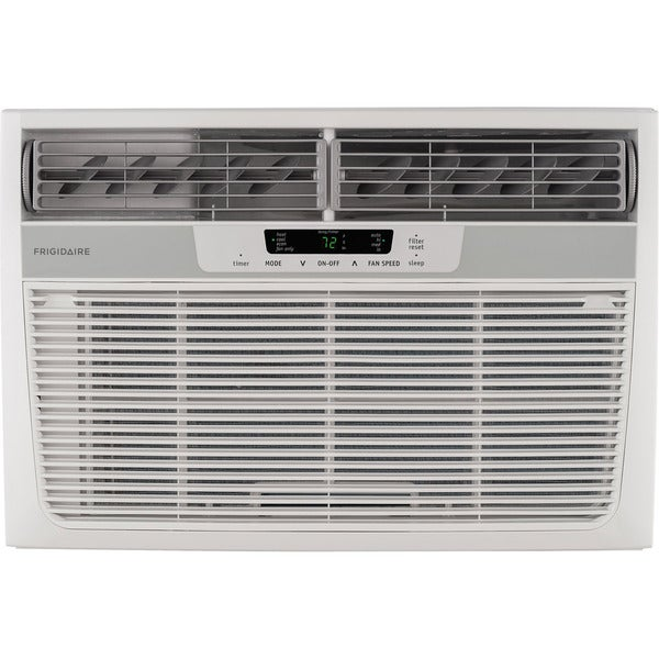 Frigidaire 25,000 BTU Room Window Air Conditioner with 16,000 BTU Electric Heat - White
