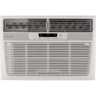 Frigidaire 25,000 BTU Room Window Air Conditioner with 16,000 BTU Electric Heat - White