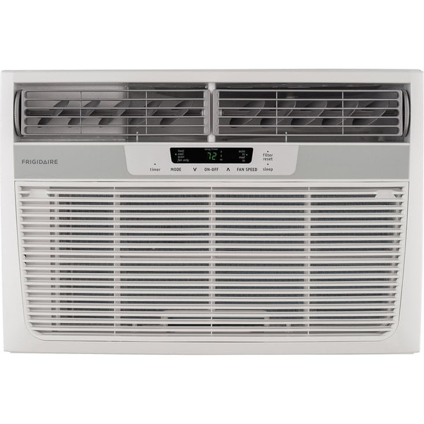 Frigidaire FFRH1222R2 - 12,000 BTU Window-Mounted Room AC w/ Heat - White