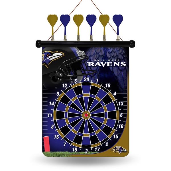 Baltimore Ravens Magnetic Dart Set
