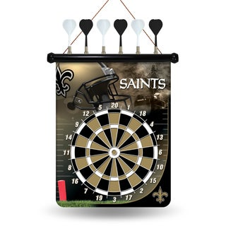 New Orleans Saints Magnetic Dart Set