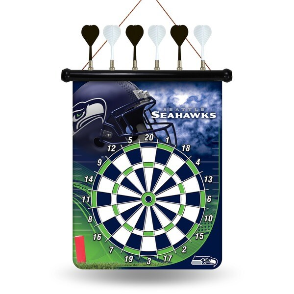 Seattle Seahawks Magnetic Dart Set