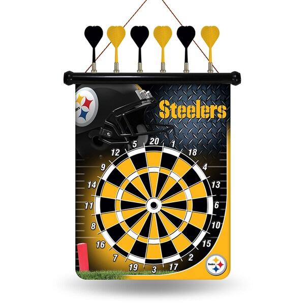 Pittsburgh Steelers Magnetic Dart Set