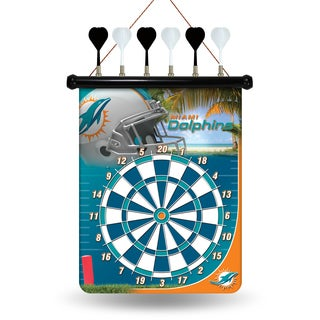 Miami Dolphins Magnetic Dart Set