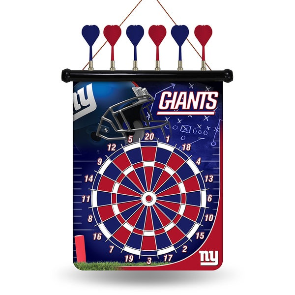 New York Giants Magnetic Dart Set