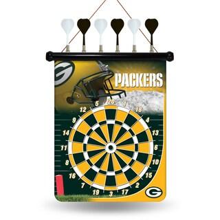 Green Bay Packers Magnetic Dart Set