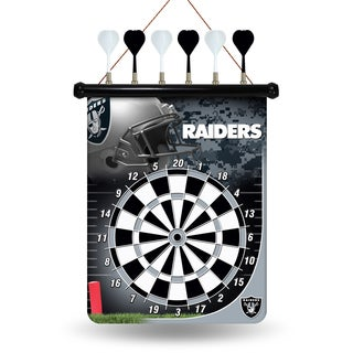 Oakland Raiders Magnetic Dart Set