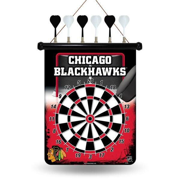 Chicago Blackhawks Magnetic Dart Set
