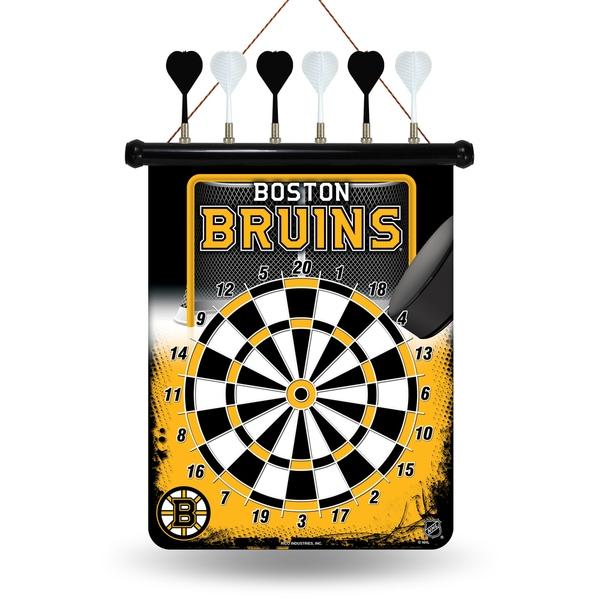 Boston Bruins Magnetic Dart Set