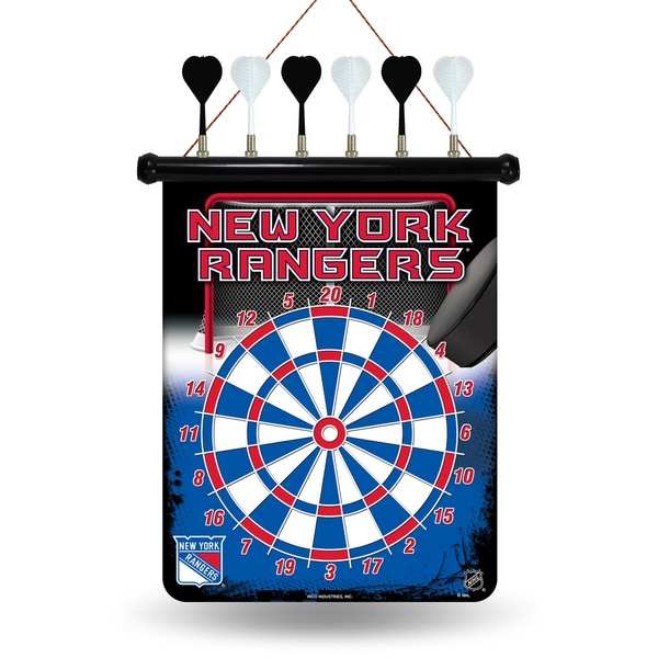 New York Rangers Magnetic Dart Set