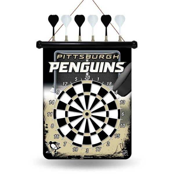 Pittsburgh Penguins Magnetic Dart Set