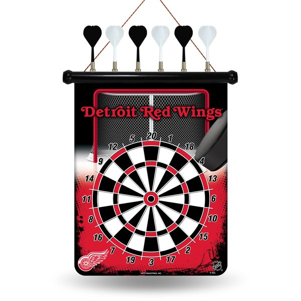 Detroit Red Wings Magnetic Dart Set