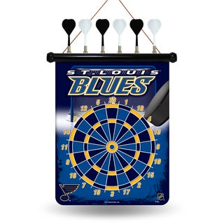 St. Louis Blues Magnetic Dart Set