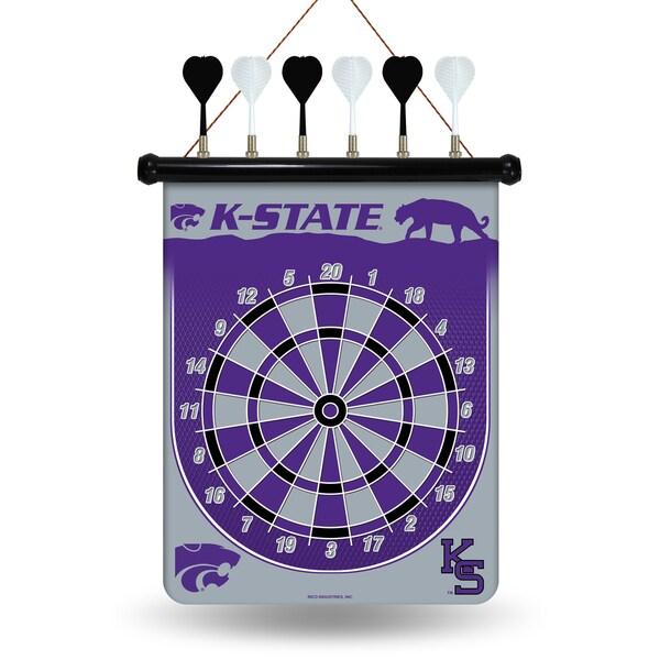 Kansas State Wildcats Magnetic Dart Set