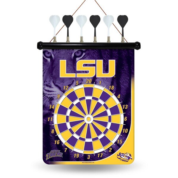 LSU Tigers Magnetic Dart Set