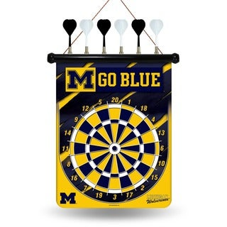 Michigan Wolverines Magnetic Dart Set
