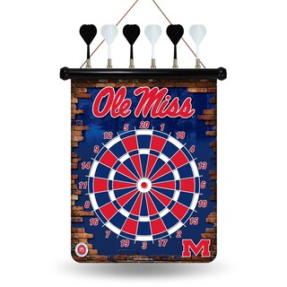 Ole Miss Rebels Magnetic Dart Set