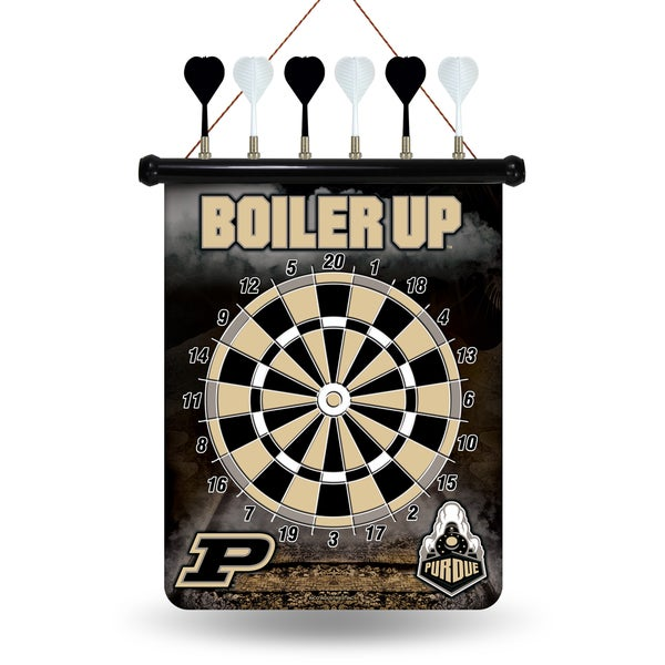 Purdue Boilermakers Magnetic Dart Set
