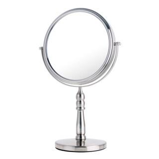 Danielle Mirror Vanity Satin Nickel 10x Mirror
