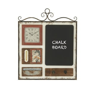 35-inch Shabby Chic Wall Frame With Clock