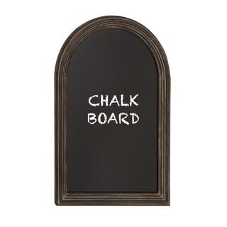 Oliver & James Buri Curved Top Chalkboard with Black Framing