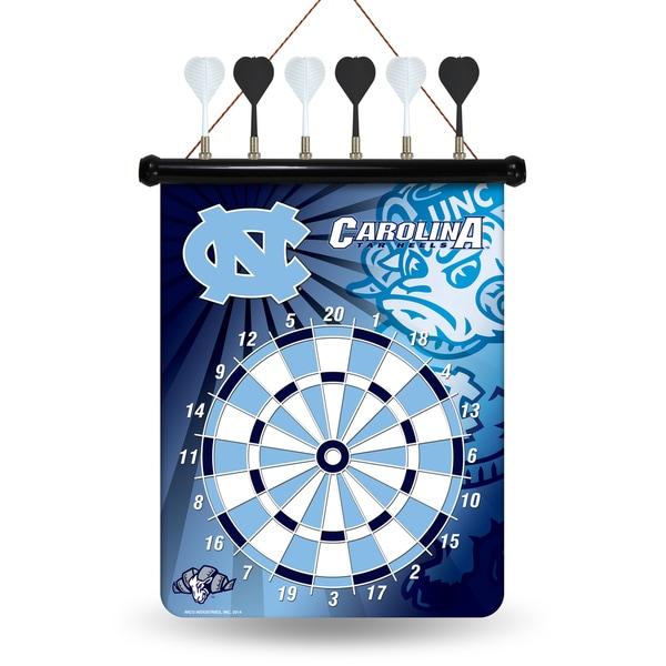 North Carolina Tar Heels Magnetic Dart Set