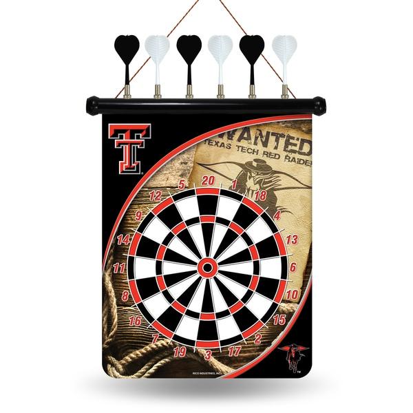 Texas Tech Red Raiders Magnetic Dart Set