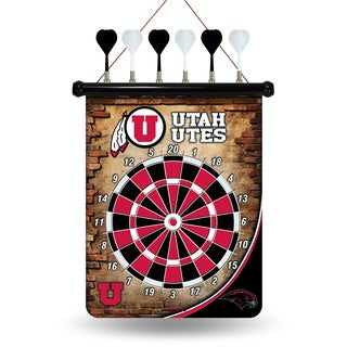 Utah Utes Magnetic Dart Set