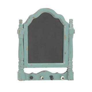 Maison Rouge Lamartine 23-inch 4-hook Sea Green Chalkboard