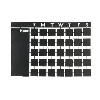 36-inch Calendar Style Chalkboard