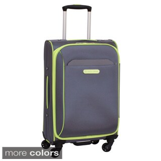 Swiss Cargo TruLite 20-inch Expandable Carry On Spinner Upright Suitcase