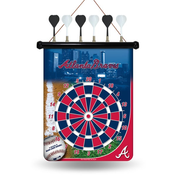 Atlanta Braves Magnetic Dart Set