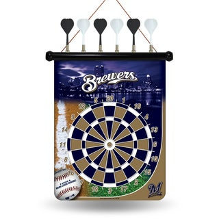 Milwaukee Brewers Magnetic Dart Set