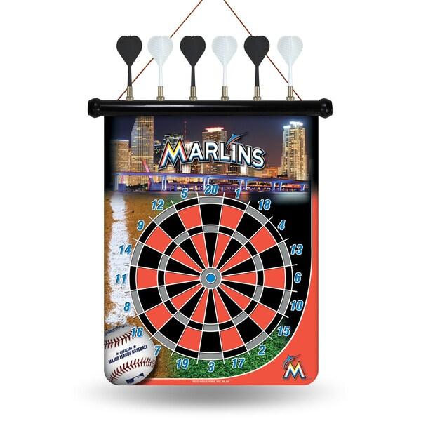 Miami Marlins Magnetic Dart Set